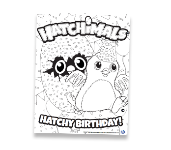 Hatchimals Activities